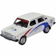 Welly модель машины 1:34-39 Lada 2107 Rally Бишкек и Ош купить в магазине игрушек LEMUR.KG доставка по всему Кыргызстану