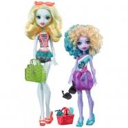 Набор Monster High Лагуна Блю и её сестра Келпи Блю 'Семья Монстров' Бишкек и Ош купить в магазине игрушек LEMUR.KG доставка по всему Кыргызстану