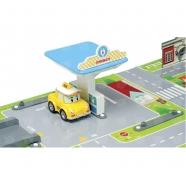 Игровой набор 'Робокар Поли' Город с мостом Бишкек и Ош купить в магазине игрушек LEMUR.KG доставка по всему Кыргызстану