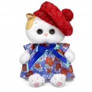 Мягкая игрушка Кошечка Ли-Ли Baby в платье и ажурном берете Бишкек и Ош купить в магазине игрушек LEMUR.KG доставка по всему Кыргызстану