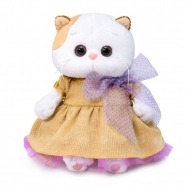 Мягкая игрушка Кошечка Ли-Ли Baby в золотом платье Бишкек и Ош купить в магазине игрушек LEMUR.KG доставка по всему Кыргызстану
