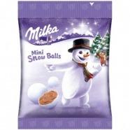 Конфеты Milka Mini Snow Balls, 100 гр Бишкек и Ош купить в магазине игрушек LEMUR.KG доставка по всему Кыргызстану
