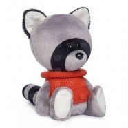 Мягкая игрушка Енот Лёка в свитере