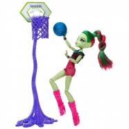 Monster High Венера Макфлайтрап Чемпионат по баскетболу Бишкек и Ош купить в магазине игрушек LEMUR.KG доставка по всему Кыргызстану