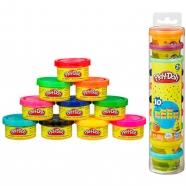 пластилина Play-Doh тубус с 10 мини-баночками Бишкек и Ош купить в магазине игрушек LEMUR.KG доставка по всему Кыргызстану