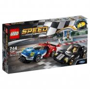 LEGO: Форд GT 2016 и Форд GT40 1966 Бишкек и Ош купить в магазине игрушек LEMUR.KG доставка по всему Кыргызстану
