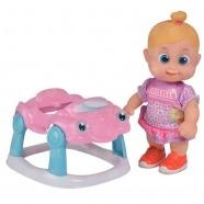 Bouncin' Babies Кукла Бони 16 см с машиной Бишкек и Ош купить в магазине игрушек LEMUR.KG доставка по всему Кыргызстану