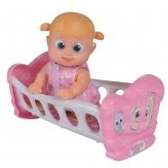 Bouncin' Babies Кукла Бони 16 см с кроваткой Бишкек и Ош купить в магазине игрушек LEMUR.KG доставка по всему Кыргызстану
