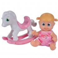 Bouncin' Babies Кукла Бони 16 см с лошадкой-качалкой Бишкек и Ош купить в магазине игрушек LEMUR.KG доставка по всему Кыргызстану