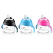 Avent Волшебная чашка-непроливайка от 6 мес, 3 цвета - розовый, голубой, черный Бишкек и Ош купить в магазине игрушек LEMUR.KG доставка по всему Кыргызстану