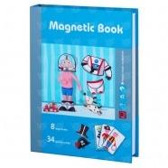 Развивающая игра Magnetic Book 'Интересные профессии' Бишкек и Ош купить в магазине игрушек LEMUR.KG доставка по всему Кыргызстану