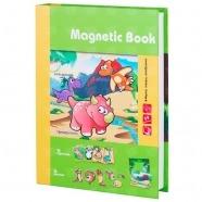 Развивающая игра Magnetic Book 'Живность тогда и теперь' Бишкек и Ош купить в магазине игрушек LEMUR.KG доставка по всему Кыргызстану