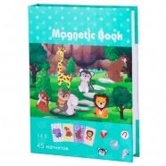 Развивающая игра Magnetic Book 'В зоопарке' Бишкек и Ош купить в магазине игрушек LEMUR.KG доставка по всему Кыргызстану