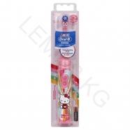 Детская электрическая зубная щетка Oral-B 'Power' Хелло Китти Бишкек и Ош купить в магазине игрушек LEMUR.KG доставка по всему Кыргызстану