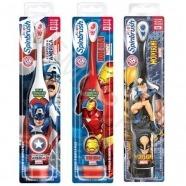 Детская электрическая зубная щетка SpinBrush 'Arm & Hammer' Супергерои Марвел Бишкек и Ош купить в магазине игрушек LEMUR.KG доставка по всему Кыргызстану