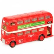 Welly модель автобуса London Bus Бишкек и Ош купить в магазине игрушек LEMUR.KG доставка по всему Кыргызстану